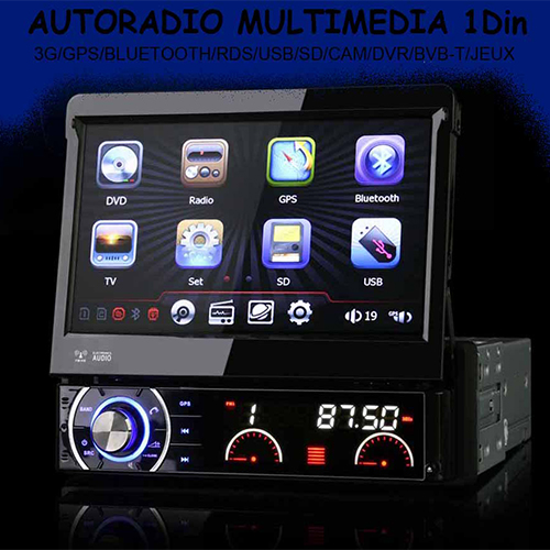 autoradio multimedia 1 din. Black Bedroom Furniture Sets. Home Design Ideas