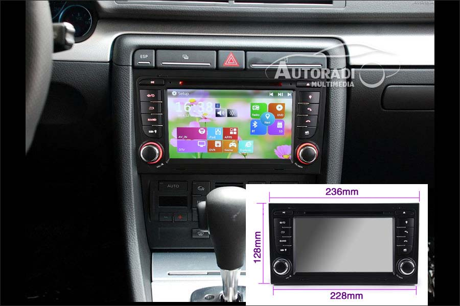 43 autoradio Gps Bluetooth Multimedia Dvd Pour Audi A4 S4 Rs4 8e 8f B9 B7 Rns E Seat Exeo on 43 autoradio gps bluetooth multimedia dvd pour audi a4