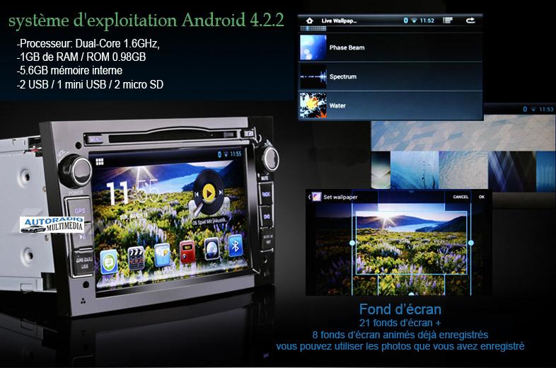 Autoradio Android 4 2 2
