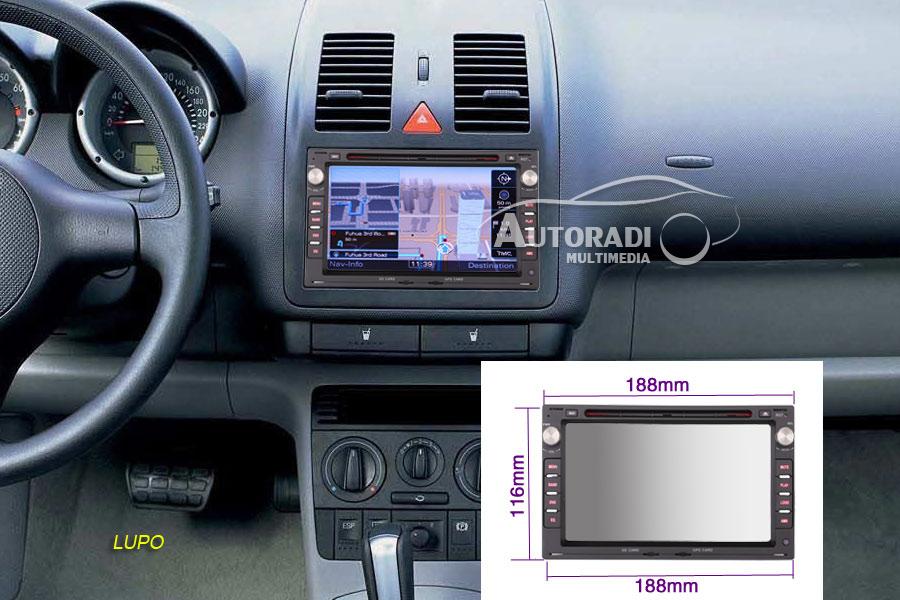 Wheels N Bits Wnb 2-83 Double Din pour Ford 6000 RDS Autoradio /à la Suppression des cl/és dExtraction