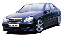 autoradio mercedes classe C w203 S203