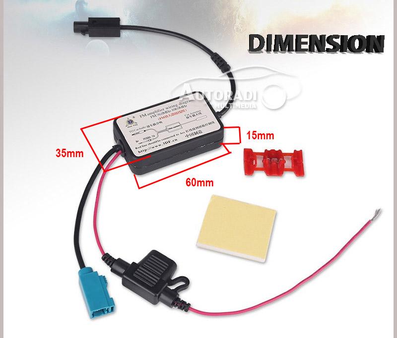 Amplificateur D Antenne Fakra