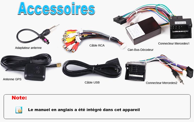 Adaptateur Musique Bluetooth Mercedes Cls W