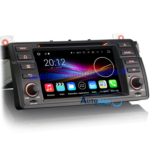 autoradio gps bluetooth wifi multimedia pas cher pour bmw serie3 e46 autoradio. Black Bedroom Furniture Sets. Home Design Ideas